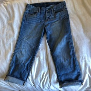 Lucky Brand Sweet Jeans Crop S: 8/29. Gently used